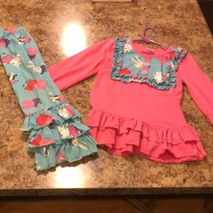 Other - 6-7T Peppa Pig boutique outfit
